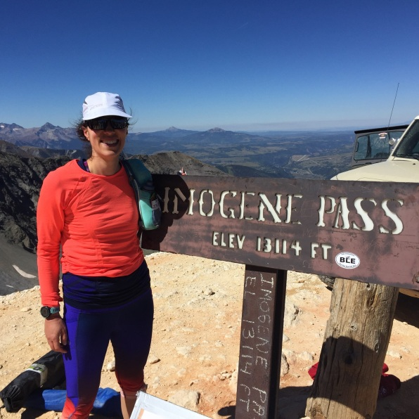 Top of Imogene Pass September 2016